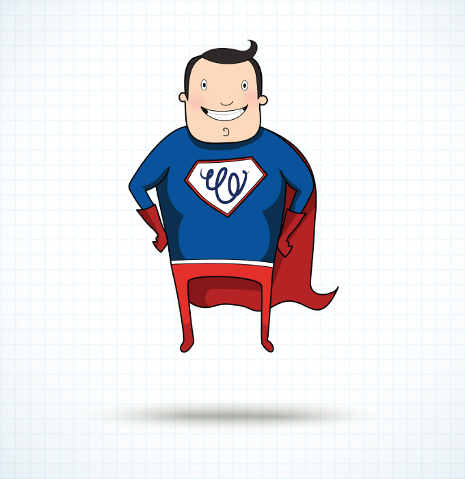 Superhero Character Illustration